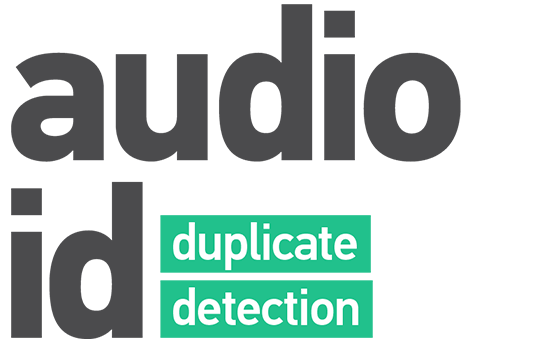Logo of mufin's product audioid duplicate detection